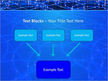 Les cercles bleus d'éclairage Modèles des présentations  PowerPoint - Diapositives 50