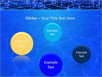 Les cercles bleus d'éclairage Modèles des présentations  PowerPoint - Diapositives 57