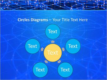 Les cercles bleus d'éclairage Modèles des présentations  PowerPoint - Diapositives 58