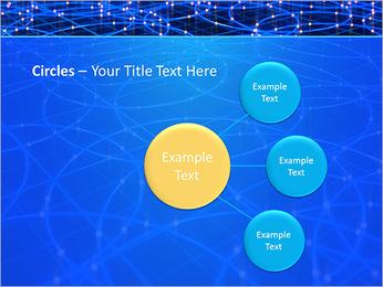 Les cercles bleus d'éclairage Modèles des présentations  PowerPoint - Diapositives 59