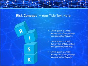 Les cercles bleus d'éclairage Modèles des présentations  PowerPoint - Diapositives 61