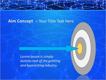 Les cercles bleus d'éclairage Modèles des présentations  PowerPoint - Diapositives 63