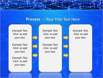 Les cercles bleus d'éclairage Modèles des présentations  PowerPoint - Diapositives 66
