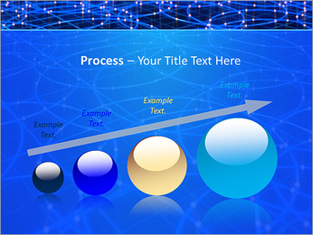 Les cercles bleus d'éclairage Modèles des présentations  PowerPoint - Diapositives 67