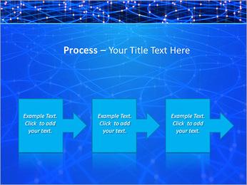 Les cercles bleus d'éclairage Modèles des présentations  PowerPoint - Diapositives 68