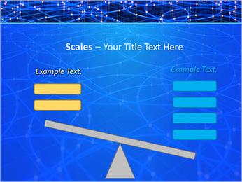 Les cercles bleus d'éclairage Modèles des présentations  PowerPoint - Diapositives 69