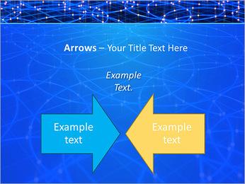 Les cercles bleus d'éclairage Modèles des présentations  PowerPoint - Diapositives 70
