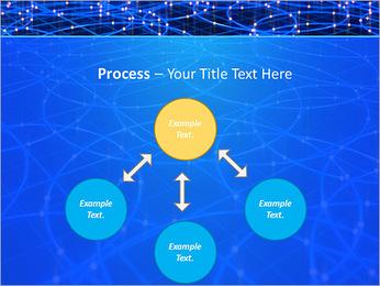 Les cercles bleus d'éclairage Modèles des présentations  PowerPoint - Diapositives 71