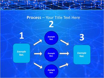 Les cercles bleus d'éclairage Modèles des présentations  PowerPoint - Diapositives 72
