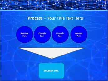 Les cercles bleus d'éclairage Modèles des présentations  PowerPoint - Diapositives 73