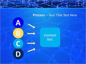Les cercles bleus d'éclairage Modèles des présentations  PowerPoint - Diapositives 74