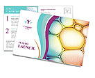 Colored Circles Design Cartes postale