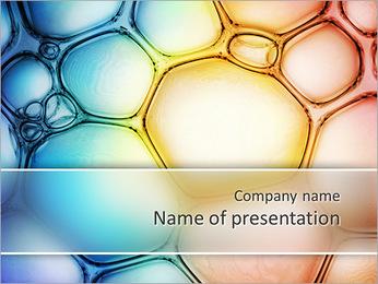 Des cercles de couleur de conception Modèles des présentations  PowerPoint - Diapositives 1