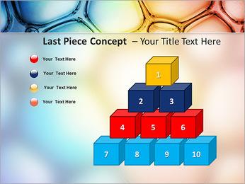 Des cercles de couleur de conception Modèles des présentations  PowerPoint - Diapositives 11