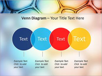 Des cercles de couleur de conception Modèles des présentations  PowerPoint - Diapositives 12