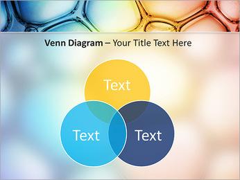 Des cercles de couleur de conception Modèles des présentations  PowerPoint - Diapositives 13
