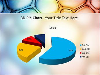Des cercles de couleur de conception Modèles des présentations  PowerPoint - Diapositives 15