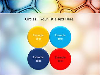 Des cercles de couleur de conception Modèles des présentations  PowerPoint - Diapositives 18