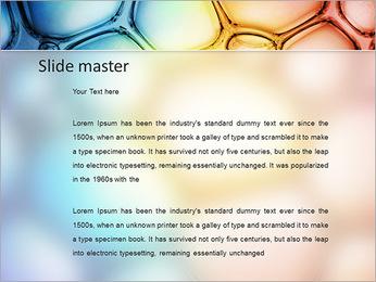 Des cercles de couleur de conception Modèles des présentations  PowerPoint - Diapositives 2