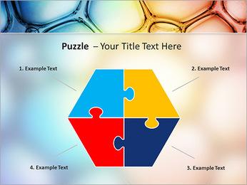 Des cercles de couleur de conception Modèles des présentations  PowerPoint - Diapositives 20