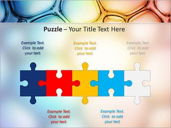 Des cercles de couleur de conception Modèles des présentations  PowerPoint - Diapositives 21