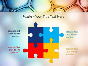 Des cercles de couleur de conception Modèles des présentations  PowerPoint - Diapositives 23