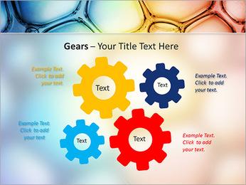 Des cercles de couleur de conception Modèles des présentations  PowerPoint - Diapositives 27