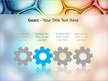 Des cercles de couleur de conception Modèles des présentations  PowerPoint - Diapositives 28