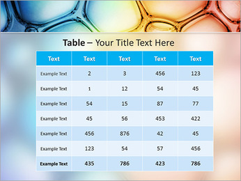 Des cercles de couleur de conception Modèles des présentations  PowerPoint - Diapositives 35