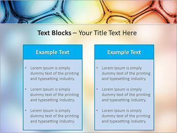 Des cercles de couleur de conception Modèles des présentations  PowerPoint - Diapositives 37