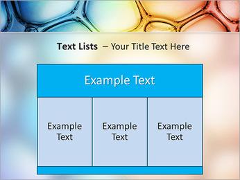 Des cercles de couleur de conception Modèles des présentations  PowerPoint - Diapositives 39