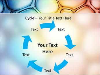 Des cercles de couleur de conception Modèles des présentations  PowerPoint - Diapositives 42