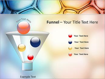 Des cercles de couleur de conception Modèles des présentations  PowerPoint - Diapositives 43