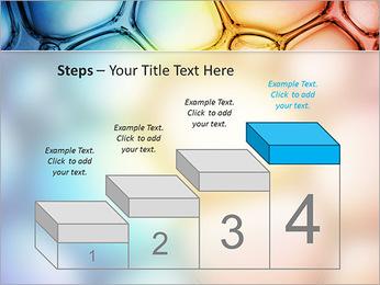 Des cercles de couleur de conception Modèles des présentations  PowerPoint - Diapositives 44