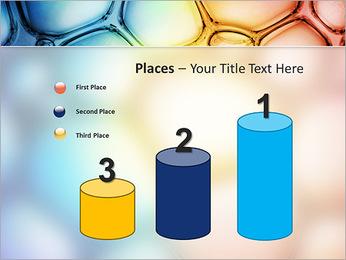 Des cercles de couleur de conception Modèles des présentations  PowerPoint - Diapositives 45