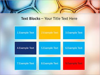 Des cercles de couleur de conception Modèles des présentations  PowerPoint - Diapositives 48