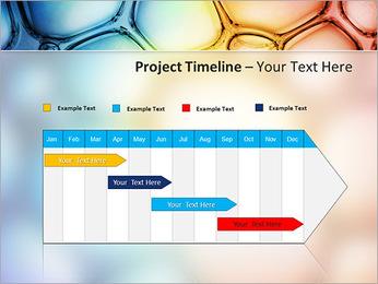 Des cercles de couleur de conception Modèles des présentations  PowerPoint - Diapositives 5