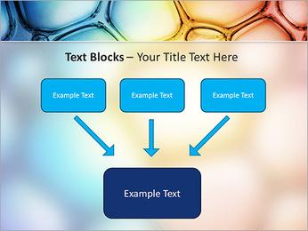 Des cercles de couleur de conception Modèles des présentations  PowerPoint - Diapositives 50