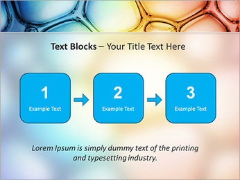 Des cercles de couleur de conception Modèles des présentations  PowerPoint - Diapositives 51