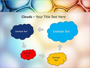Des cercles de couleur de conception Modèles des présentations  PowerPoint - Diapositives 52