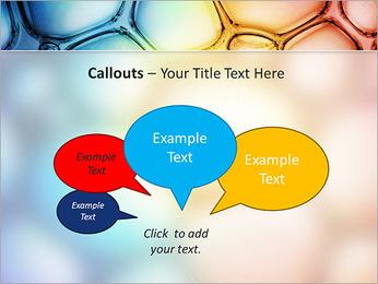 Des cercles de couleur de conception Modèles des présentations  PowerPoint - Diapositives 53