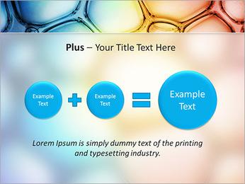 Des cercles de couleur de conception Modèles des présentations  PowerPoint - Diapositives 55