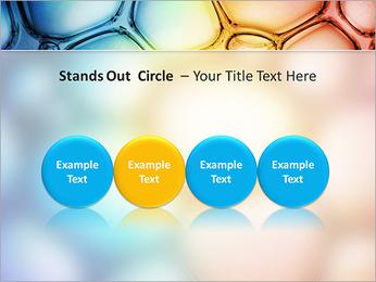 Des cercles de couleur de conception Modèles des présentations  PowerPoint - Diapositives 56