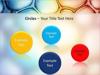 Des cercles de couleur de conception Modèles des présentations  PowerPoint - Diapositives 57