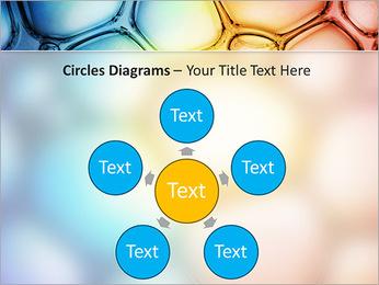 Des cercles de couleur de conception Modèles des présentations  PowerPoint - Diapositives 58