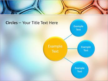 Des cercles de couleur de conception Modèles des présentations  PowerPoint - Diapositives 59