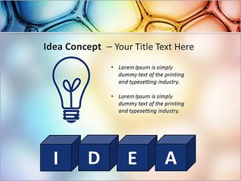 Des cercles de couleur de conception Modèles des présentations  PowerPoint - Diapositives 60