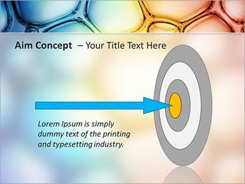 Des cercles de couleur de conception Modèles des présentations  PowerPoint - Diapositives 63