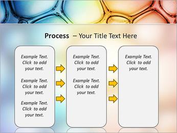 Des cercles de couleur de conception Modèles des présentations  PowerPoint - Diapositives 66