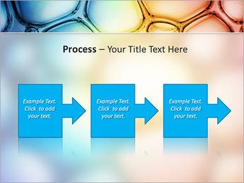 Des cercles de couleur de conception Modèles des présentations  PowerPoint - Diapositives 68